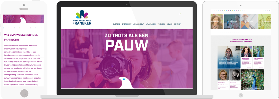 Weekendschool Franeker WordPress website